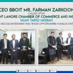 CEO Mr Farman Zarkoon called upon President LCCI Offcial Mian Tariq Misbah